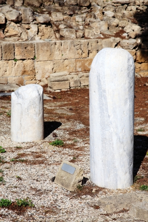 paulus: St Paul s Pillar a marble column on which the apostle St Paul received 39 lashes after trying to convert the islands Roman governor Sergius Paulus in AD45  The column ruin stands in the grounds of the 12th century church of Agia Kyriaki