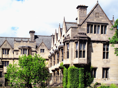 university building:  Merton College Oxford University was founded in 1260 by Walter De Merton chancellor to Henry III and could be the oldest of the Oxford Colleges in Oxford, Oxfordshire, UK