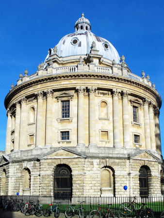 The Radcliffe Camera designed by James Gibbs.