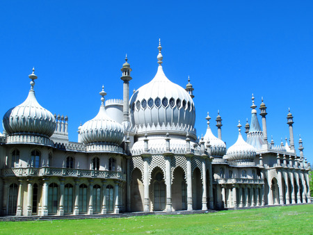 The Royal Pavilion in Brighton, Sussex,England, UK,  built in the early19th century as a seaside retreat for the then Prince Regent