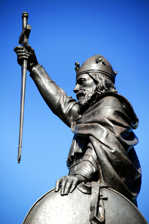 anglo saxon: King Alfred The Great\