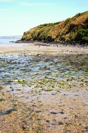 pembrokeshire: Fishguard Bay, Pembrokeshire, Wales, UK, a popular Welsh coastline for tourist visitor