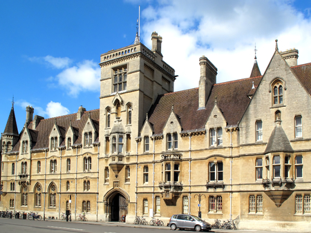 Lincoln College, Oxford University, Oxfordshire, England UK was founded in 1427 by Richard Fleming the Bishop of Lincoln and is the ninth oldest oldest of the colleges