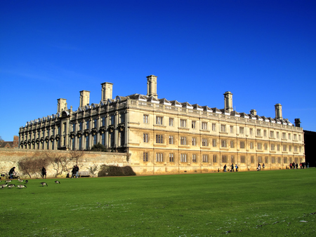 cambridgeshire: Clare College, Cambridge University, England, UK, which was founded in 1326 and is the second oldest college of the university Editorial