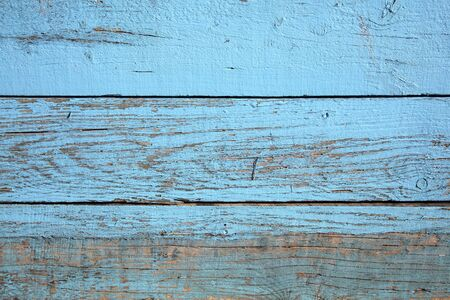distressed wood: Old blue weathered distressed wood oak planks background