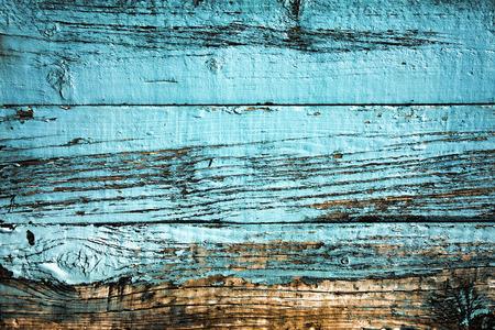 Alte blaue verwitterte distressed Holz Eichenplanke Hintergrund