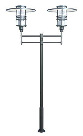 lamp post: Modern lamp post