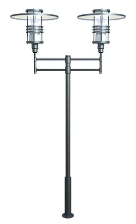 modern lamp: Modern lamp post