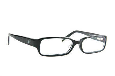 spec: fansy women eyeglasses white isolated