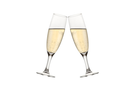 recurrence: champagne toast Stock Photo