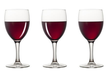 vinery: Red wine glasses