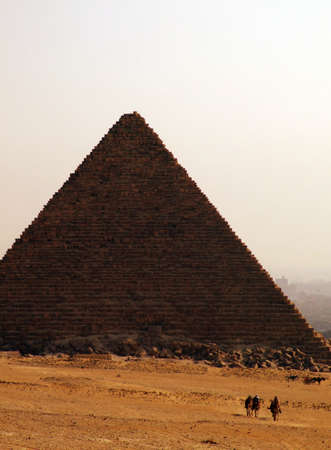 one of the great pyramids of giza in Egypt Stock Photo - 4239137