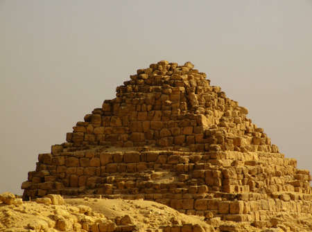 one of the great pyramids of giza in Egypt Stock Photo - 4239155