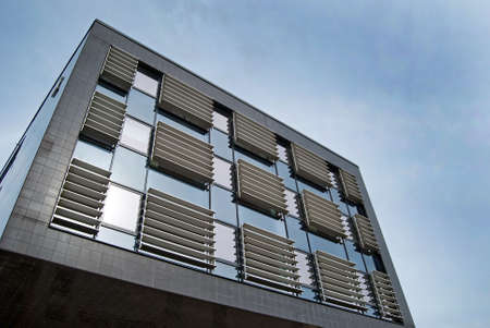 multi storey: An image of a corporate office building facility
