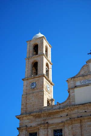 kreta: A monastery in Chania on the Greek island of Crete.