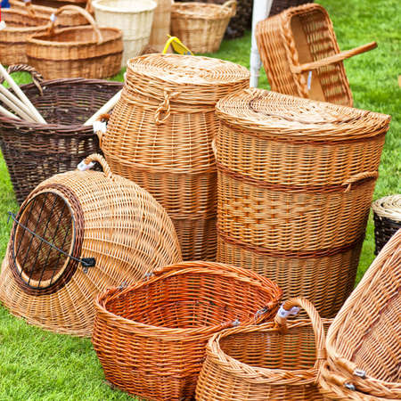 cepelia: A selection of hand crafted wicker baskets for many uses.