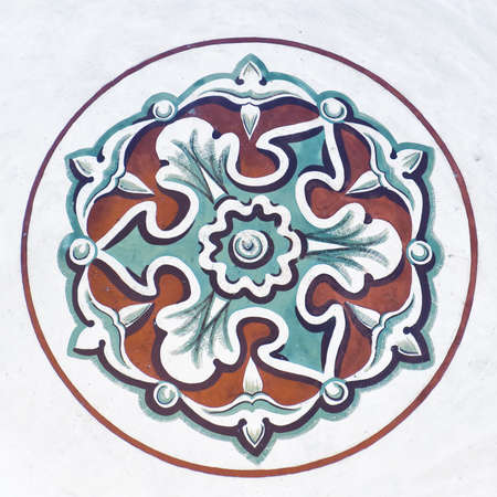 Islamic art from the Sehzade mosque in the turkish city of Istanbul. photo