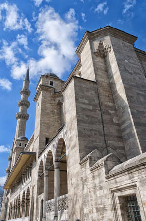 A view of the majestic Suleiman Mosque in Istanbul, Turkey. photo
