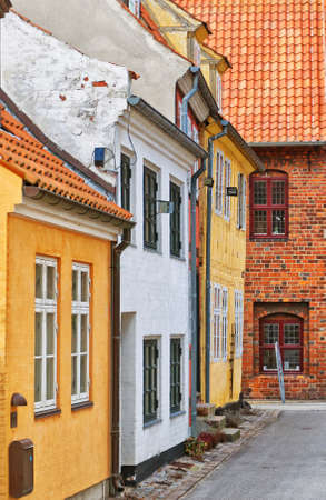 A view of the Danish town centre of Helsingor. Stock Photo - 12989600