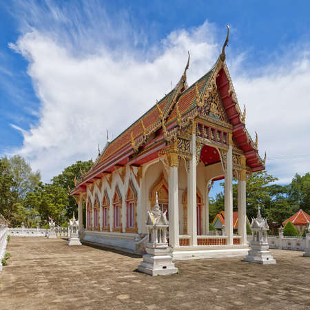 A buddhist temple situated in the city of Hua Hin in Thailand. Stock Photo - 13838335