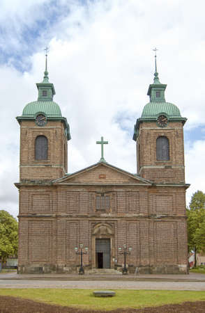 The Sofia Albertina church situated in the swedish town of Landskrona. photo