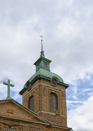 The Sofia Albertina church situated in the swedish town of Landskrona  Stock Photo