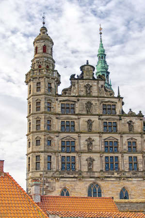 The renaissance Kronberg castle situated in the Danish town of Helsingor.