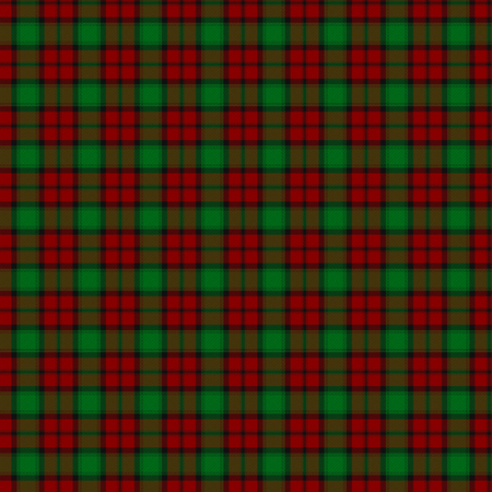 A seamless patterned tile of the clan Kerr tartan.