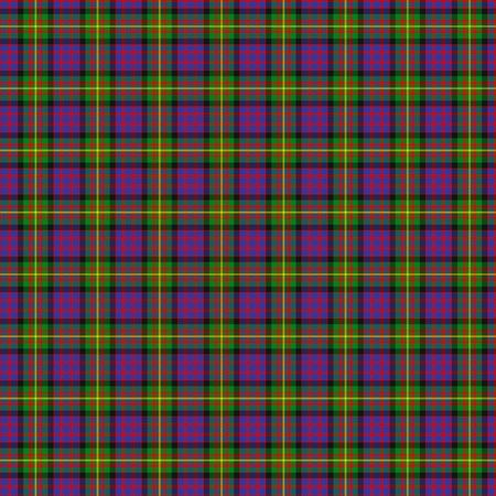 A seamless patterned tile of the clan Carnegie tartan.