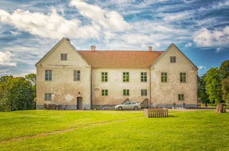 Tommarps Kungsgard is a castle in Astorp Municipality, Scania in southern Sweden.  Stock Photo