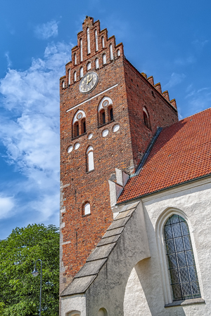 Saint Marys is an old medieval church in the swedish town of Ahus.
