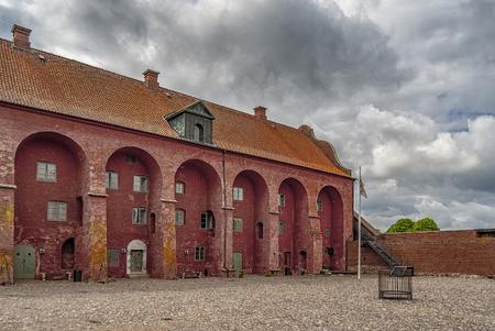 An image of the Landskrona citadel in the skane region of Sweden. Stock Photo