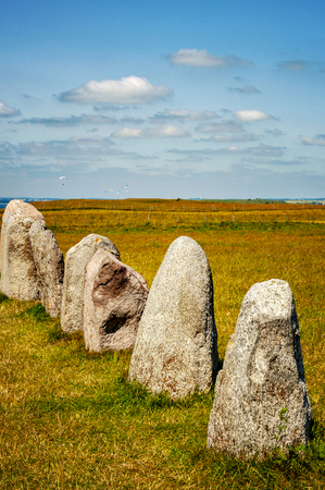 Sweden's most famous standing stones is arranged in the shape of a boat and believed to be the resting place of King Ale.