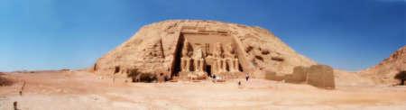 pharoah: Abu Simbel 02 Egypt Panoramic Image
