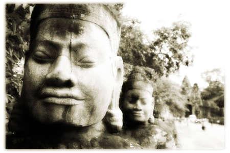 angkor: Angkor wat, cambodia 03 Stock Photo