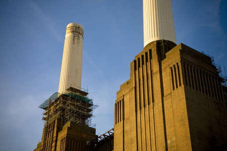 power station: Battersea Power station stock Photo Stock Photo