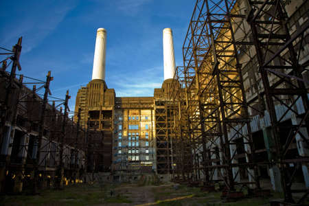 Battersea Power station stock Photo Stock Photo - 2331515