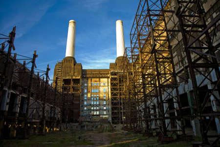 battersea: Battersea Power station stock Photo Stock Photo