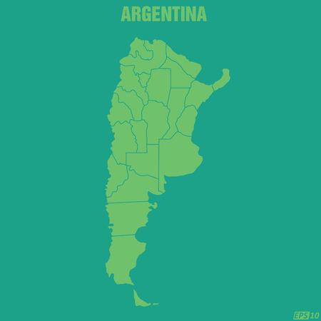 map of argentina: Argentina Map