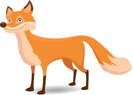 the animated cartoon: Fox