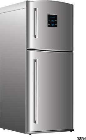 mini bar: Refrigerator or Fridge Illustration