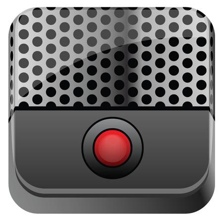 grabadora: Grabadora con el bot�n