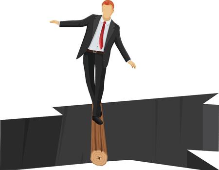 taking risks: Risk Planning or Management Illustration