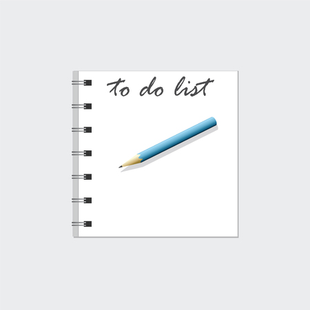 to do list: To Do List Illustration