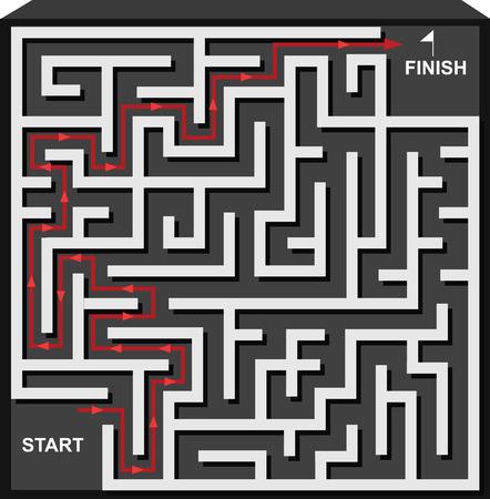 hardship: Maze Solutions