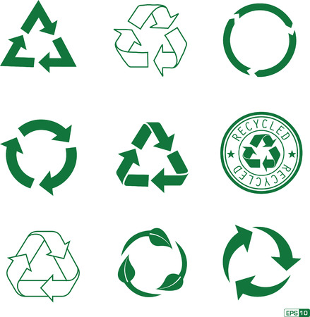 Recycle Icon Pack Vector