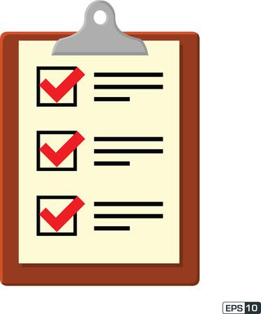 non: Clipboard Checklist