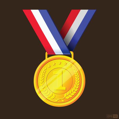 goldmedaille: Goldmedaille und den ersten Preis