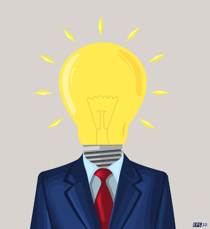 thinker: Businessmen with lot of ideas