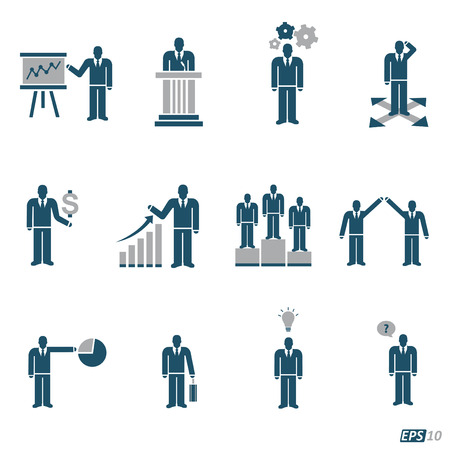 business meeting computer: Social Business Network